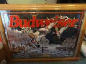 BUDWEISER Painting DUCK MIRROR